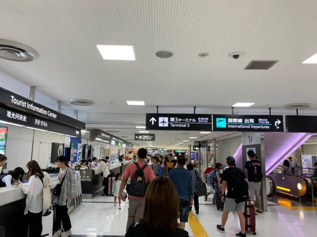グローバルWiFiの成田空港の返却場所はどこにある?