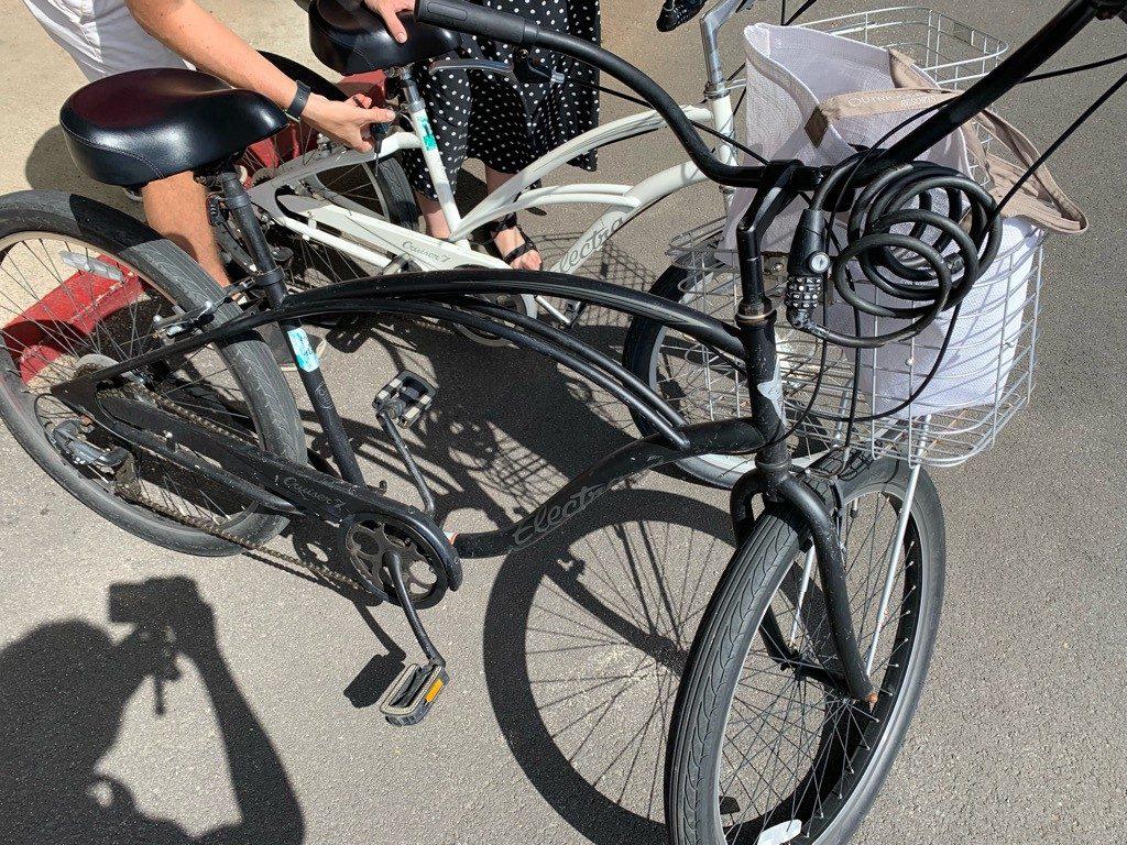 THE BIKE SHOP 自転車の前かご