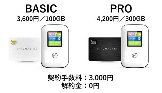 Nomad SIM(ノマドシム)とは?おすすめ?Fuji Wifiとの比較も記載【メリット・デメリットあり】