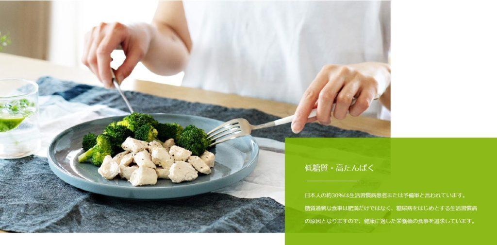 低カロリー&高タンパク【GOFOOD(ゴーフード)】